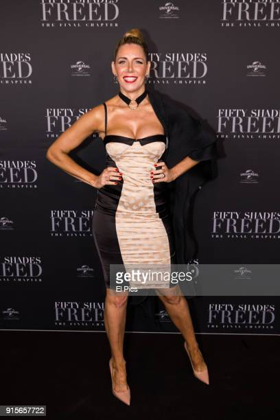 Athena X Levendi attends the Fifty Shades Freed Launch Event on February 7 2018 in Sydney Australia