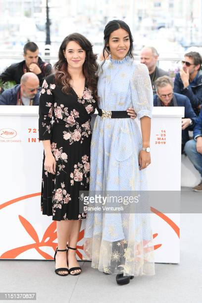 Athenais Sifaoui and Dany Martial attend thephotocall for Mektoub My Love Intermezzo during the 72nd annual Cannes Film Festival on May 24 2019 in...