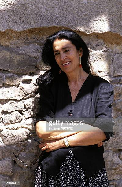 Athenes Irene Papas In Athens Greece In August 1996