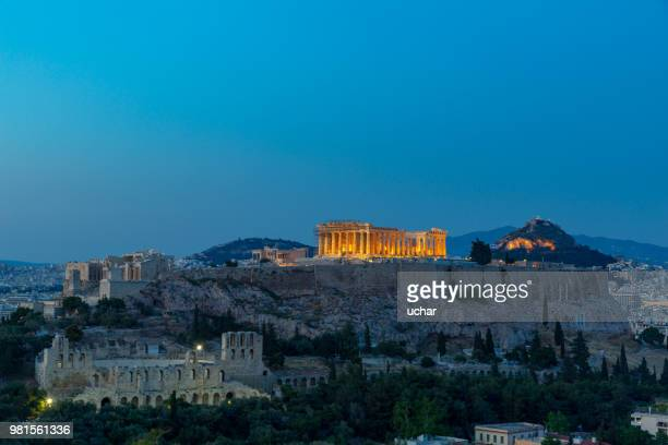 Athenian Acropolis Greece