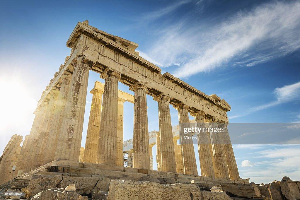 Athens Acropolis Parthenon TempleGreece Stock Photo
