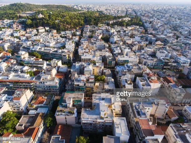 Luchtfoto van Athene