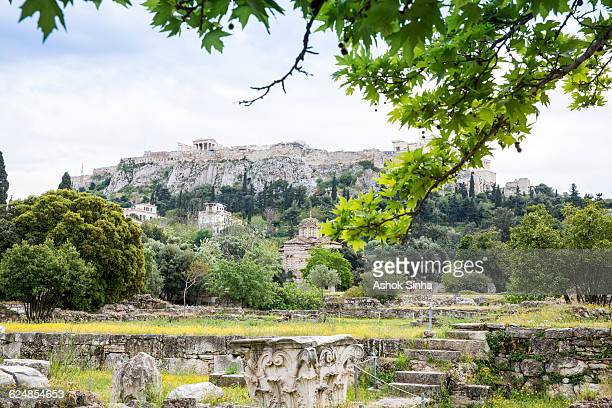 athens archeological park - ancient greece photos stock pictures, royalty-free photos & images