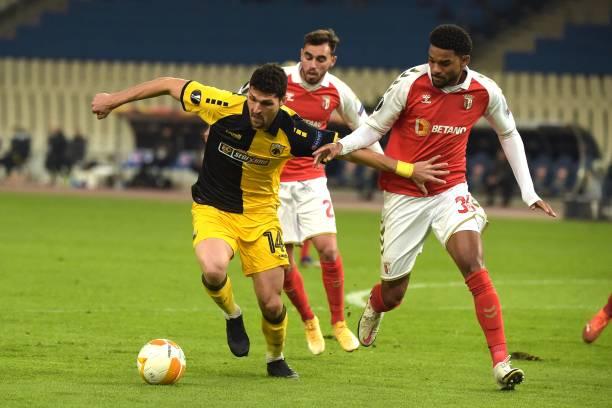 GRC: AEK Athens v SC Braga: Group G - UEFA Europa League
