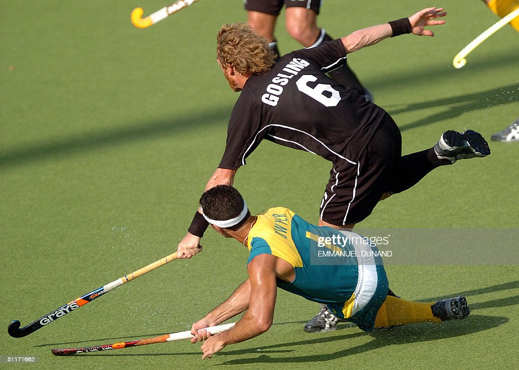 Australian hockey player Jamie Dwyer (bo : News Photo