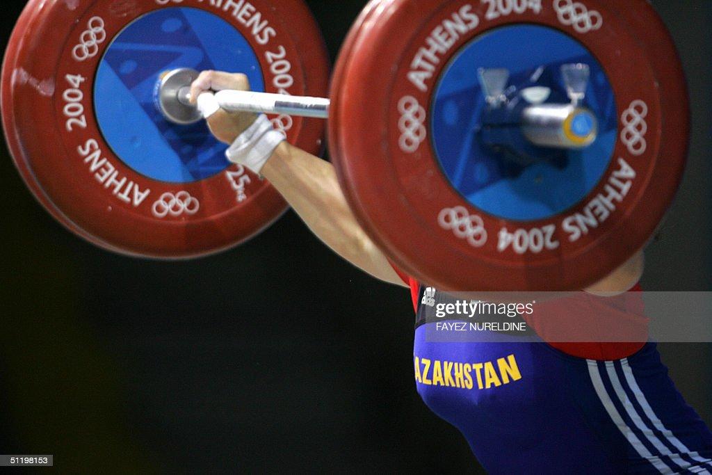Kazakhstan's Tatyana Khromova competes d : News Photo
