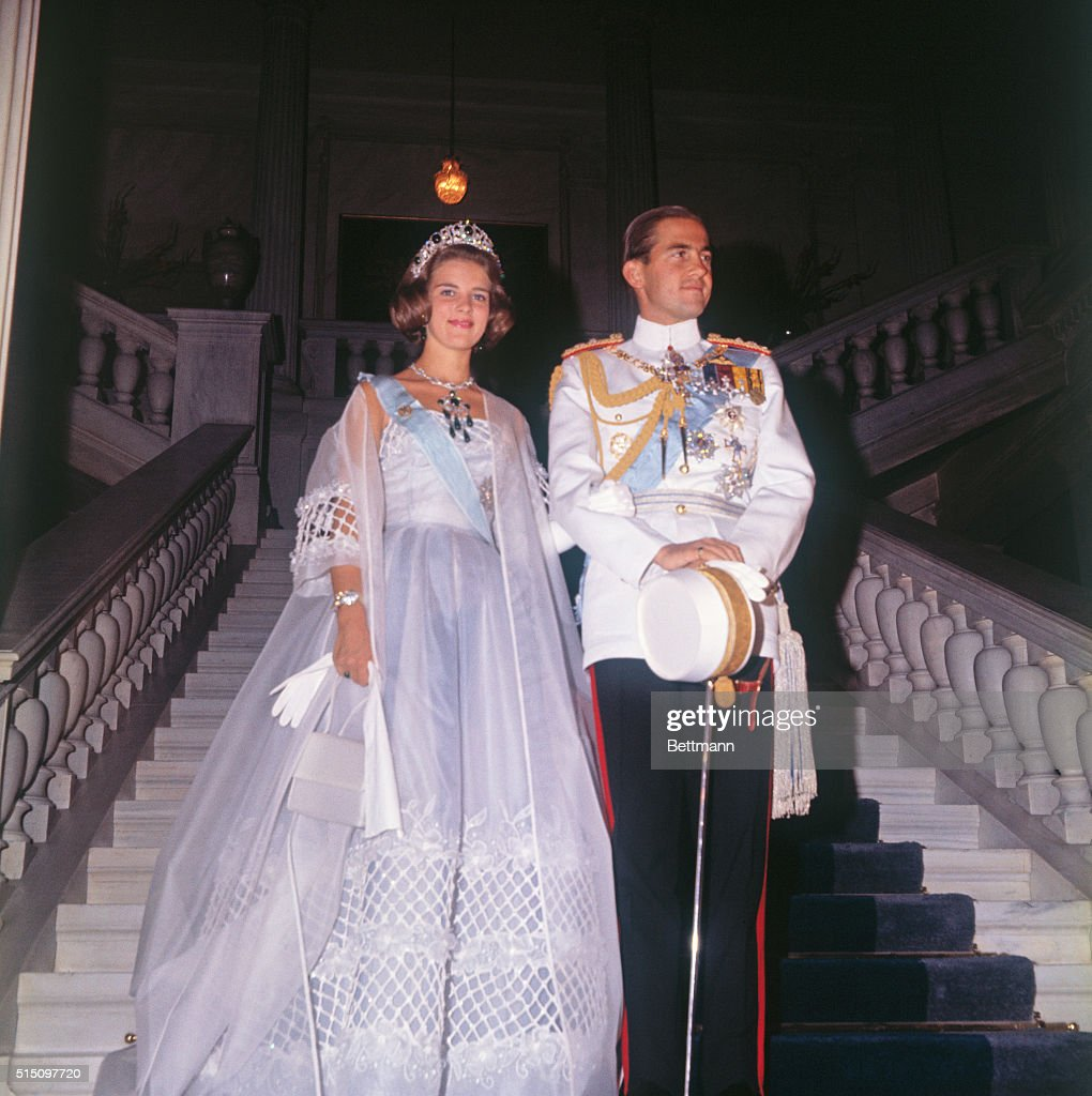 Wedding of King Constantine and Princess Anne Marie Pictures | Getty ...