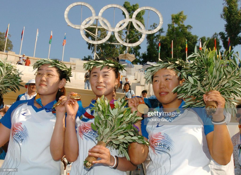 Olympic champions and gold medalists of : News Photo