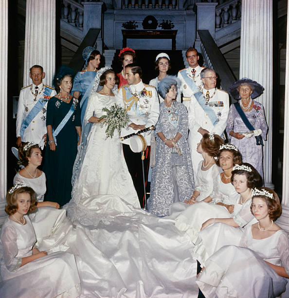 Wedding of Princess Anne Marie and Constantine of Greece Pictures ...