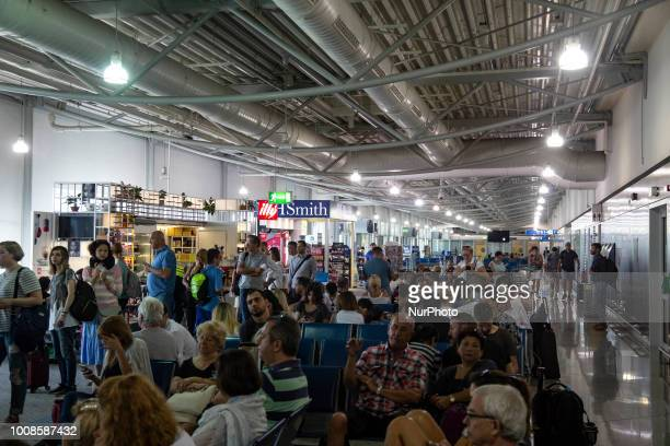 Athens international airport quotEl Venizelosquot or quotAIAquot as seen on 28 of July 2018 The airport is the largest in Greece having in 2017 217...