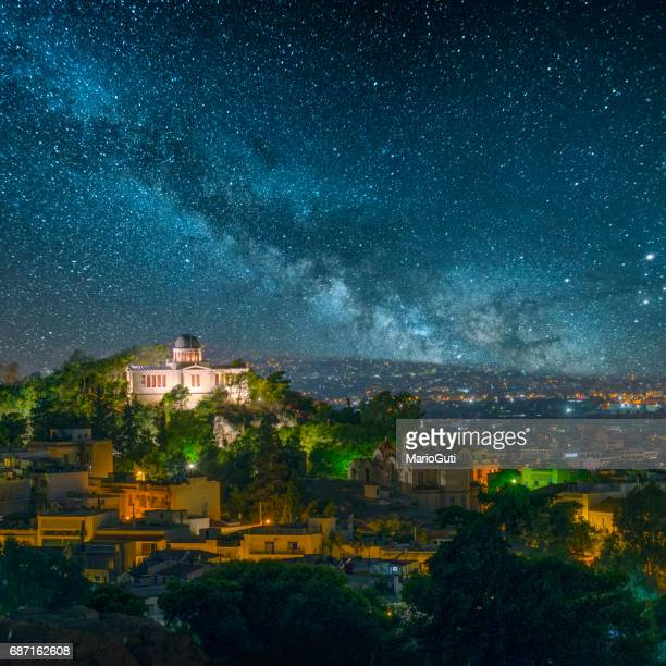 Athens under the stars