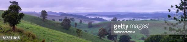 atherton tablelands landscape, queensland, australia - atherton tableland stock pictures, royalty-free photos & images