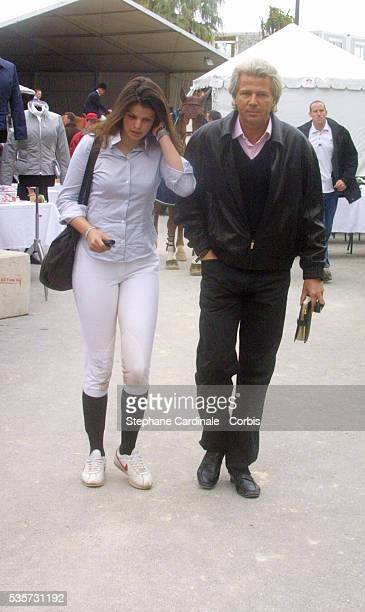 Athina and Thierry Roussel