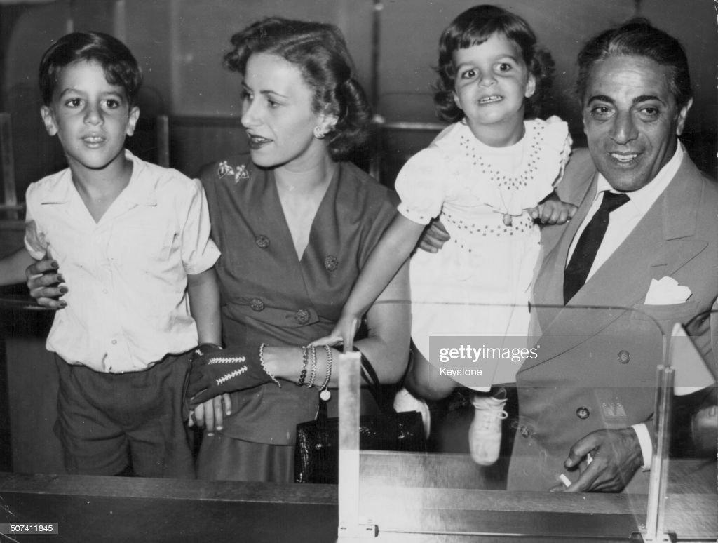 Athina Livanos And Aristotle Onassis : News Photo
