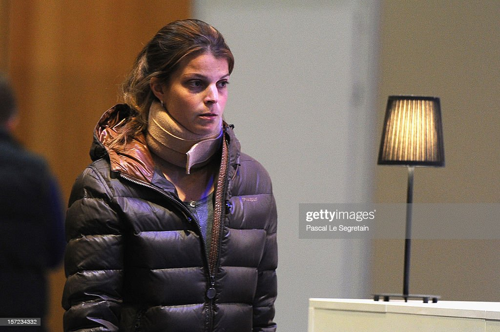 Athina Onasis attends the Gucci Paris Masters 2012 at Paris Nord Villepinte on November 30, 2012 in Paris, France.