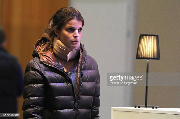 Athina Onasis attends the Gucci Paris Masters 2012 at Paris Nord Villepinte on November 30 2012 in Paris France