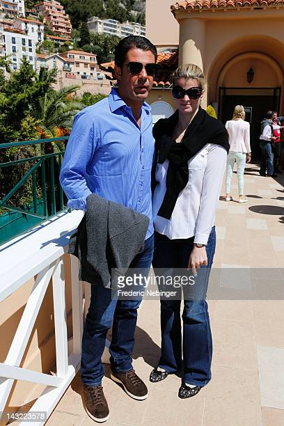 21 21 L 21 Athina Onassis and her husband Alvaro Alfonso de Miranda Neto attending the Monte Carlo Rolex Masters on April 21 2012 in MonteCarlo Monaco