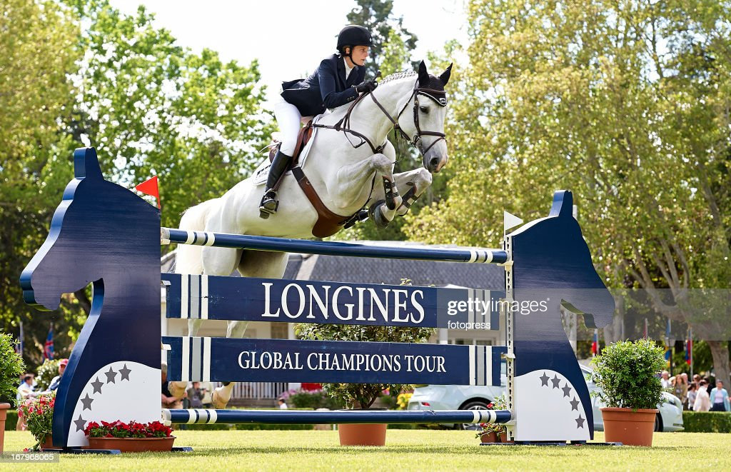 Global Champion Tour Horse Tournament in Madrid : News Photo