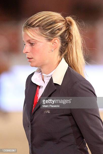 Athina Onassis is spotted during the '30th International Cannes Jumping' Global Champion Tour 2011 on June 9 2011 in Cannes France
