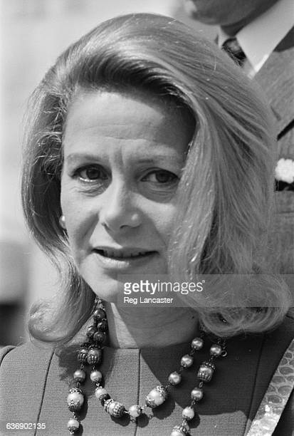 Athina Onassis Livanos , the Marchioness of Blandford, during her divorce in Paris, France, 6th May 1971. She married her third husband, Stavros...
