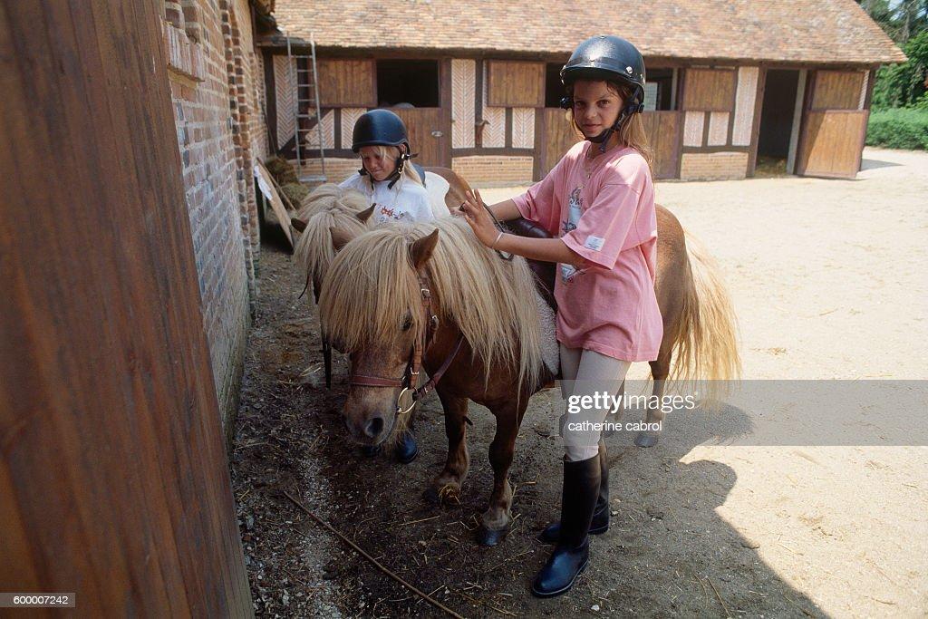 Athina Onassis Roussel Riding : News Photo