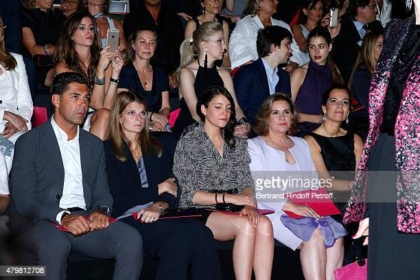 Athina Onassis with her husband Alvaro de Miranda Neto Grand Duchess Maria Teresa de Luxembourg with her daughter Princess Alexandra de Luxembourg...