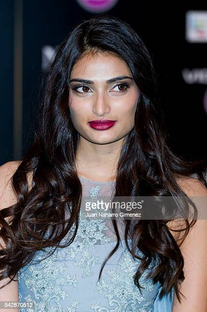 Athiya Shetty attends IIFA Awards 2016 Rocks Green Carpet at Ifema on June 24 2016 in Madrid Spain