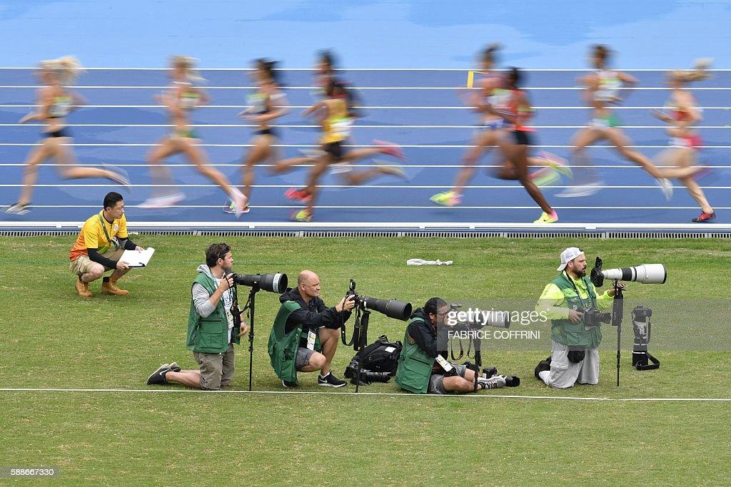 ATHLETICS-OLY-2016-RIO-AFP-MEDIA : News Photo