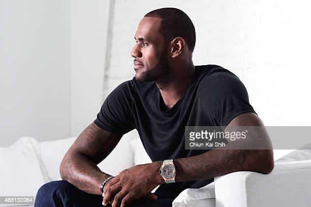 Athlete and actor LeBron James is photographed for Self Assignment on December 2 in New York City