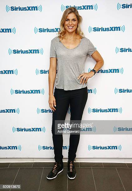 Athlete and model Gabrielle Reece visits the SiriusXM Studios on April 13 2016 in New York City