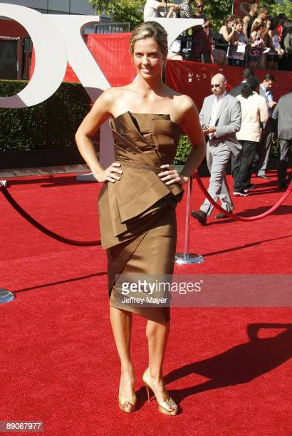 Athlete Anna Rawson arrives at the 17th Annual ESPY Awards at the Nokia Theatre LA Live on July 15 2009 in Los Angeles California