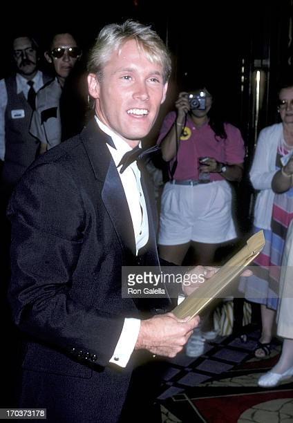 Athlete Bart Conner attends the 21st Annual Jerry Lewis MDA Labor Day Telethon on September 1 1986 at Caesars Palace in Las Vegas Nevada