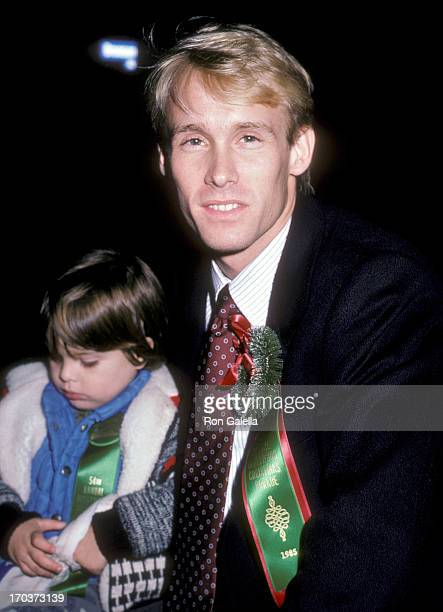 Athlete Bart Conner attends the 54th Annual Hollywood Christmas Parade on December 1 1985 at Hollywood Boulevard in Hollywood California