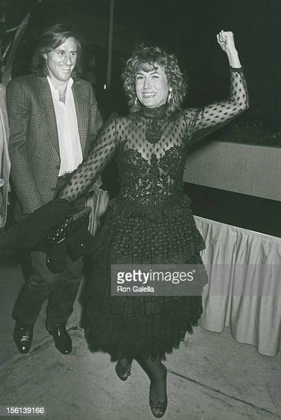 Athlete Bjorn Borg and wife Mariana Simionescu attending 11th Annual Alan King Caesars Palace Tennis Classic Pro Celebrity Party on April 23 1982 at...