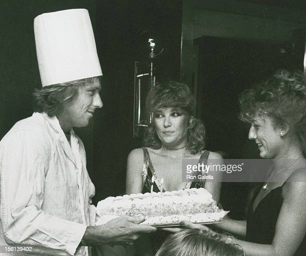 Athlete Bjorn Borg and wife Mariana Simionescu attending their Second Wedding Anniversary on August 9 1982 at George Martin's Restaurant in New York...