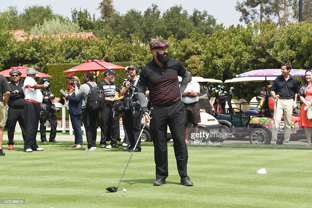 Athlete Brian Wilson attended the 8th Annual George Lopez Celebrity Golf Classic presented by Sabra Salsa to benefit The George Lopez Foundation at Lakeside Golf Club on May 4, 2015 in Toluca Lake, California.
