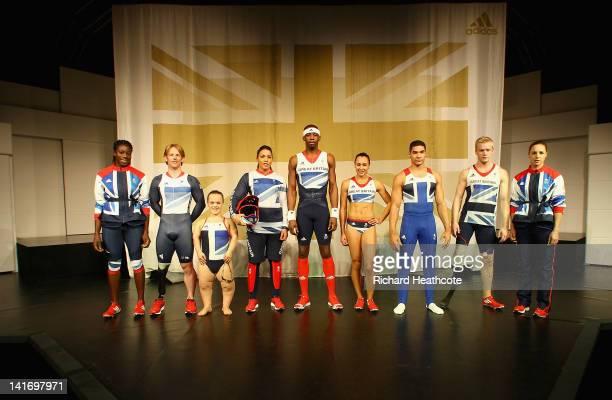Athlete Christine Ohuruogu Paralympian cyclist Jody Cundy Paralympian swimmer Ellie Simmonds BMX cyclist Shanaze Reade Triple jumper Phillips Idowu...