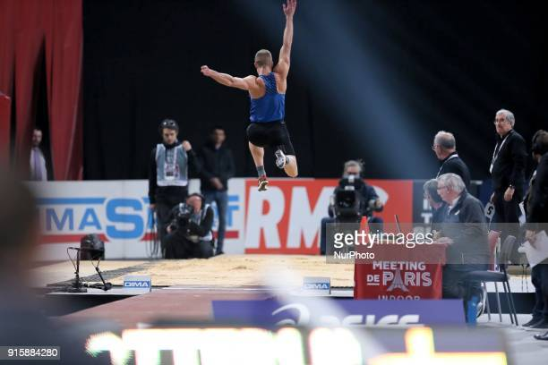 Athlete competes during the Athletics Indoor Meeting of Paris 2018 at AccorHotels Arena in Paris France on February 7 2018