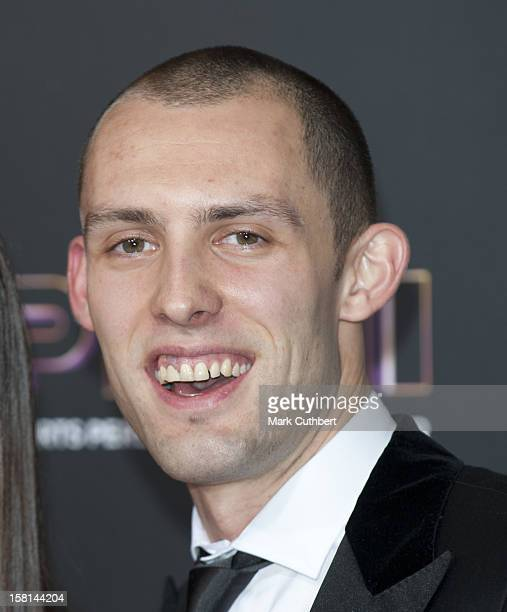 Athlete Dai Greene Arriving For The Sports Personality Of The Year Awards 2011, At Mediacityuk, Salford, Manchester.