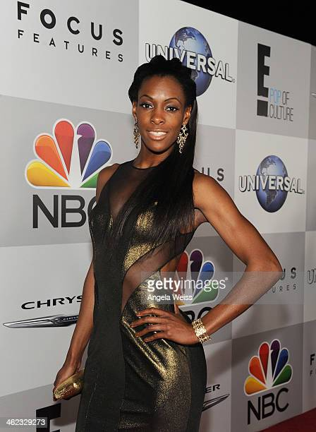 Athlete DeeDee Trotter attends the Universal NBC Focus Features E sponsored by Chrysler viewing and after party with Gold Meets Golden held at The...