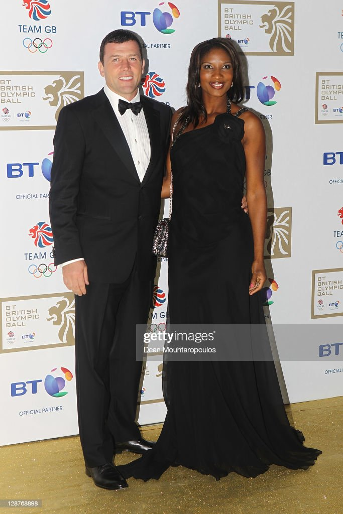 british athlete denise lewis r and hus pictures getty