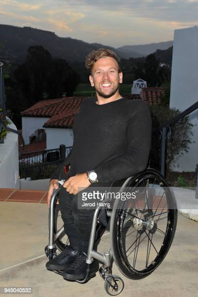 Athlete Dylan Alcott attends 2018 PTTOW Summit Metamorphosis on April 11 2018 in Ojai California