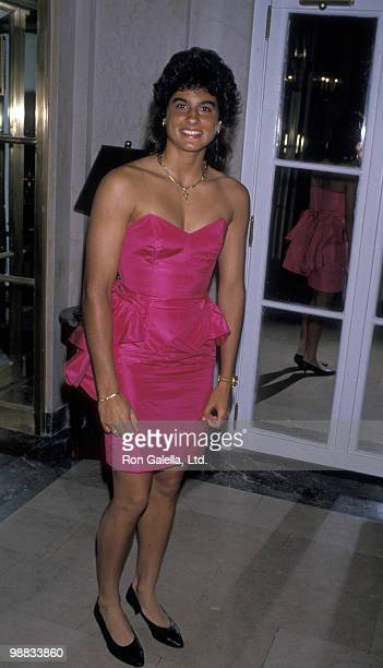 Athlete Gabriela Sabatini attends International Tennis Association Awards on August 28 1989 at the Plaza Hotel in New York City