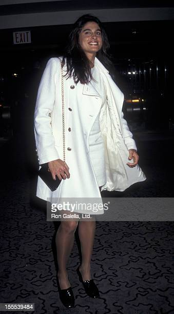 Athlete Gabriela Sabatini attends VH1 Fashion Awards on October 24 1996 at Madison Square Garden in New York City