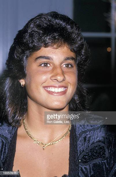 Athlete Gabriela Sabatini attends Women International Tennis Assocation Awards Dinner Benefiting the March of Dimes on August 29 1988 at the Plaza...