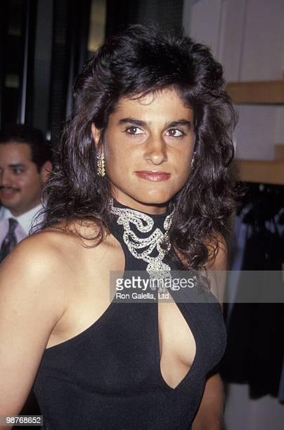 Athlete Gabriela Sabatini attends Women International Tennis Association Awards Dinner on August 29 1994 at the Parker Meridian Hotel in New York City