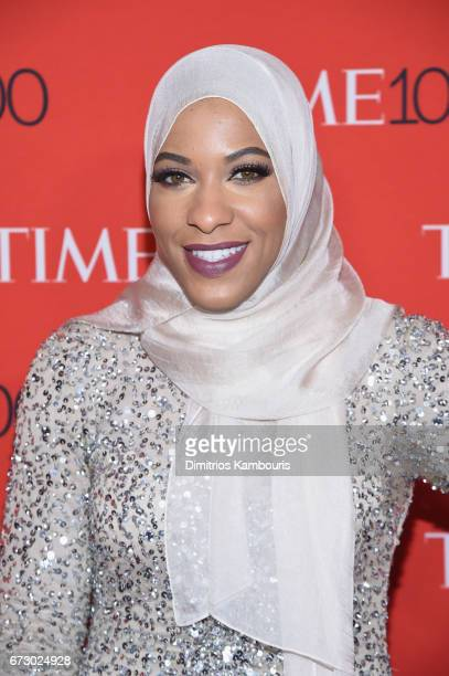 Athlete Ibtihaj Muhammad attends the 2017 Time 100 Gala at Jazz at Lincoln Center on April 25 2017 in New York City