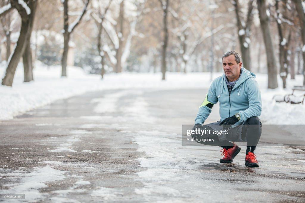Sportlerin im park : Stock-Foto