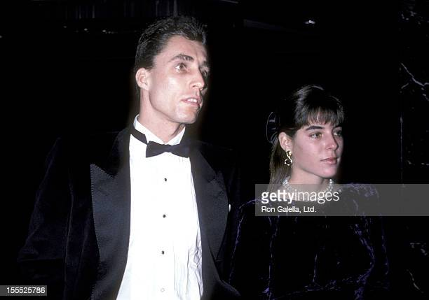Athlete Ivan Lendl and date Samantha Frankel attend the 12th Annual Association of Tennis Professional's JAKS Awards on December 2 1986 at New York...