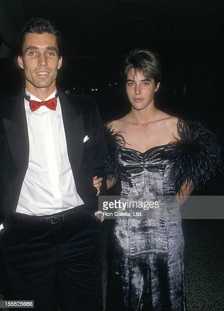 Athlete Ivan Lendl and date Samantha Frankel attend the 13th Annual Association of Tennis Professional's JAKS Awards on December 1 1987 at New York...